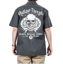 Original Outlaw Dickie Workshirt Charcoal