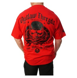 Original Outlaw Red Mens Tee