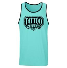 """Men's """"Tattoo Lover"""" Tank"""