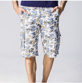 Men's Floral Printed Casual Beach Shorts(No Belts)