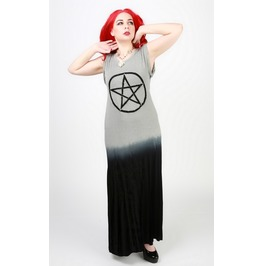 Bell, Book And Candle Pentagram Maxi Dress
