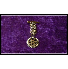 Steampunk Chain Mail Medal