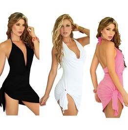 Sexy Women Summer Beach Sleeveless Party Evening Cocktail Short Mini Dress