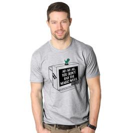 Mens You Didn't Say The Magic Work Dinosaur Shirt.