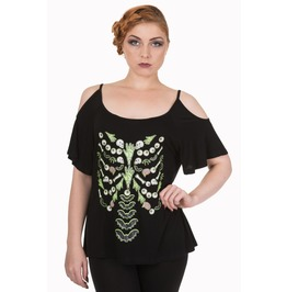 Banned Apparel Midnight Hour Top