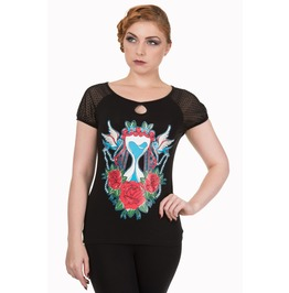Banned Apparel Time After Time Top