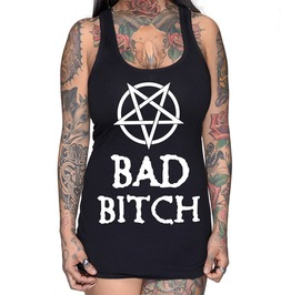 Bad Bitch Racer Back Tank Top