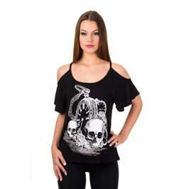 Banned Apparel Skull Watch T Shirt