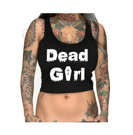 Dead Girl Crop Top