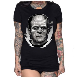 Frankenstein By Wolf Tee
