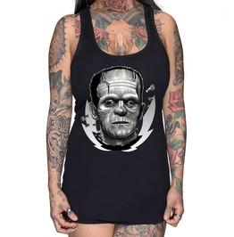 Frankenstein By Wolf Racer Back Tank