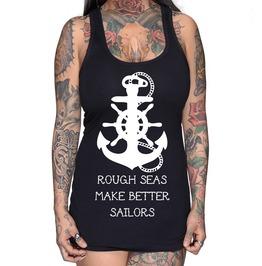 Rough Seas Make Better Sailors Racer Back