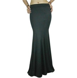 Low Rise Flare Skirt