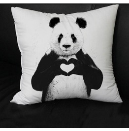 Modern And Simple Graphics Animal Panda Pillow Cushion Pillow