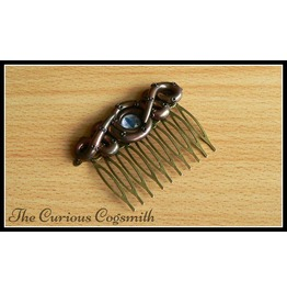 Copper & Bronze Lovecraft Inspired Tentacle Hair Comb