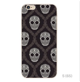Punk Metal Fashion Skull Phone Case For Iphone6 And Iphone 6 S