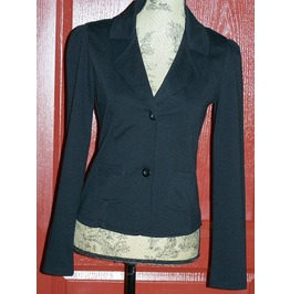 2 Button Black Blazer