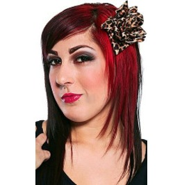 Sourpuss Leopard Flower Hair Clip