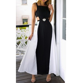 Summer Sleeveless Evening Party Beach Long Maxi Sundress
