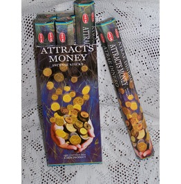 Hem Attracts Money Incense 20 Stick Box