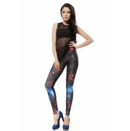 Milk Way Space Galaxy Leggings Pants