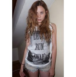 Let's Run Away Ibiza Summer Feelings Festival Tank Top Vest Women