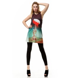 Arrival Print Tank Tops Dress Mother Gift