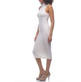Turtle Neck Long Bodycon Dress