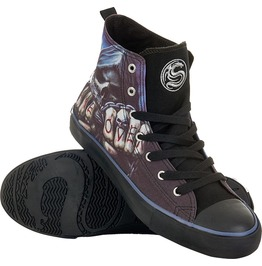 Brand New Men's High Top Laceup| Black Sneakers