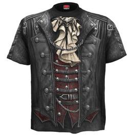 Brand New Men,S Black Goth T Shirt