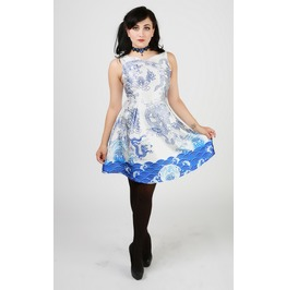 China Doll Dragon Dress