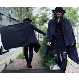 Alternative Magic Frayed Cape Stylish