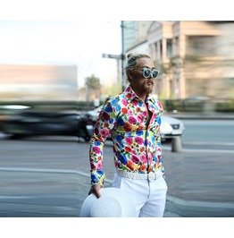 Mens Floral Pattern Shirts
