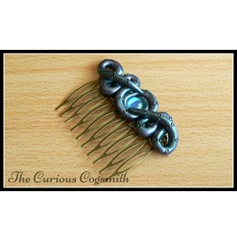 Blue & Purple Lovecraft Inspired Tentacle Hair Comb