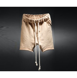 Men's Cotton Cutting Rope Shorts
