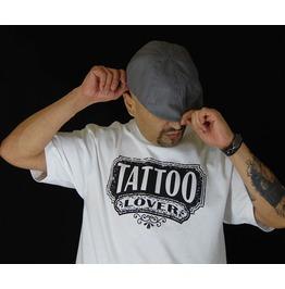 """Men's 100% Cotton """"Tattoo Lover"""" Tee"""