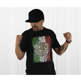 "Men's Soft Ringspun Cotton ""Mexican Pride"" Tee"