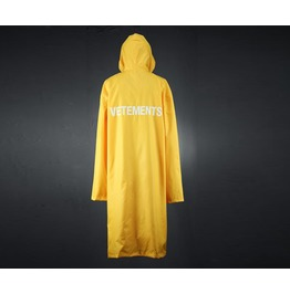 Over Fit Long Rain Coat