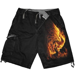 Brand New Black Men,S Vintage Cargo Shorts