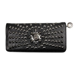 Brand New Black&Silver Women Pu Leather Clutch Wallet