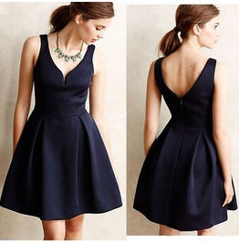 Sexy Casual Sleeveless Evening Party Cocktail Short Mini Skater Dress