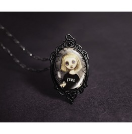 Élise The Cure Goth Necklace
