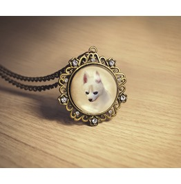 Rob, The Husky Dog Necklace