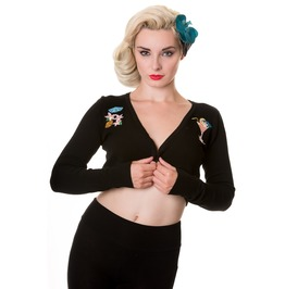 Banned Apparel Black Cocktail Bolero