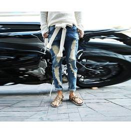 Men's Vintage Real Denim Damage Jeans