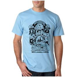 Led Zeppelin Shirt T Men Retro Poster Rock Band Tshirt Cotton
