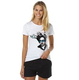 Tim Burton Shirt T Women Alice Scissorhands Film Director Tshirt Cotton