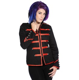 Banned Apparel Military Drummer Red Jacket