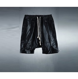 Men's Leather Baggy Pants