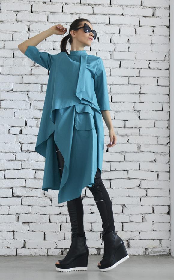 asymmetric_green_shirt_shirt_dress_plus_size_top_long_green_tunic_standard_tops_6.jpg